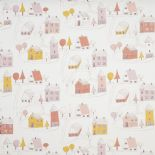 Happy Dreams Fabric Small Village HPDM 8325 43 17 HPDM83254317 By Casadeco